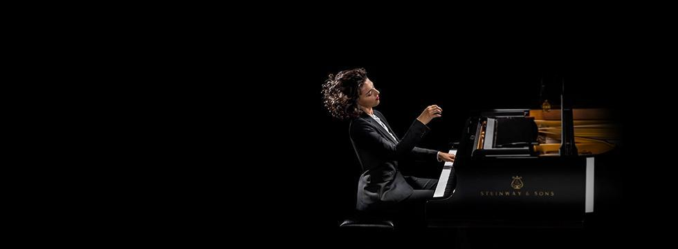 ALPHA BANK<br>25th Year Jubilee Concert<br>KHATIA BUNIATISHVILI<br>CHRISTIAN BADEA<br>October 23rd, 2019<br>The Romanian Athenaeum